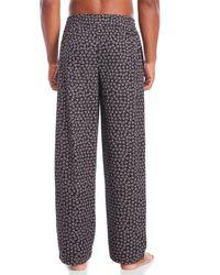 CALVIN KLEIN 205W39NYC - Gray Fleece Pajama Pants for Men - Lyst