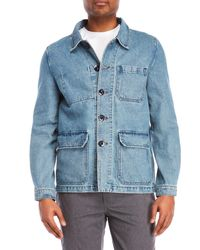 Barney Cools - Blue Kyoto Jean Jacket for Men - Lyst
