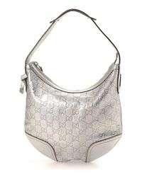 Lyst - Gucci Princy Hobo Bag - Vintage in Metallic 594c5e0a69698