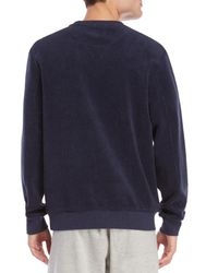 Vilebrequin - Blue Toulon Reversible Sweater for Men - Lyst