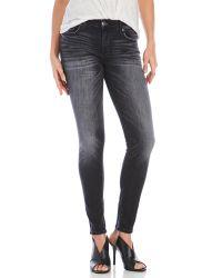 True Religion | Blue Halle Skinny Jeans | Lyst