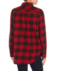True Religion   Red Plaid Cowgirl Shirt   Lyst