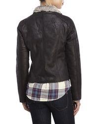 Raison D'etre | Black Faux Shearling Jacket | Lyst