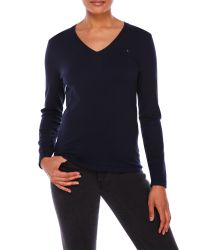 Tommy Hilfiger | Blue Ivy Sweater With Long Sleeves | Lyst