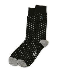 Original Penguin - Black Gabriel Dot Crew Socks for Men - Lyst