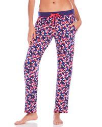 Juicy Couture   Blue Sugar Valentine Pajama Pants   Lyst