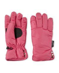 Swany   Pink Side Snap Ski Gloves   Lyst