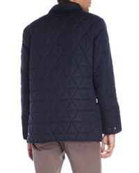 Marc New York - Blue Quilted Auburn Field Jacket for Men - Lyst