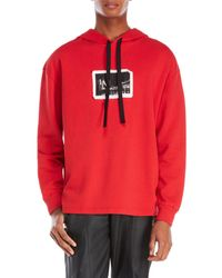 Blood Brother - Red City Patch Hoodie for Men - Lyst