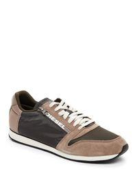 DIESEL | Olive & Green Black Jake Slocker Jogger Sneakers for Men | Lyst