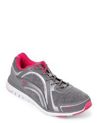 Ryka | Gray Grey & Silver Aries Walking Sneakers | Lyst