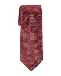 Versace - Red Silk Tie for Men - Lyst