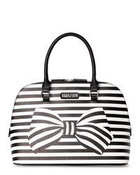 Kenneth Cole Reaction | Black & White Knots Away Dome Satchel | Lyst