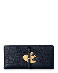 Marc By Marc Jacobs   Navy Blue Petal To The Metal Continental Wallet   Lyst