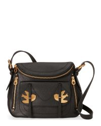 Marc By Marc Jacobs | Black Natasha Petal To The Metal Shoulder Bag | Lyst