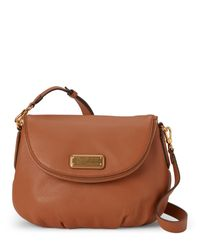 Marc By Marc Jacobs | Brown Maple Tan Natasha Crossbody | Lyst
