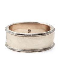 House of Harlow 1960 - Metallic Silver-tone Hinged Bracelet - Lyst