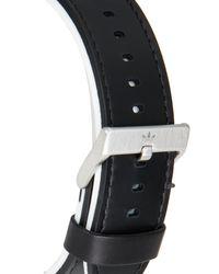 Adidas Originals - Adh3004 Silver-Tone & Black Watch for Men - Lyst