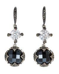 Judith Jack - Multicolor Silver-Tone Drop Earrings - Lyst