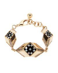 Lulu Frost - Metallic Gold-Tone Veruschka Bracelet - Lyst
