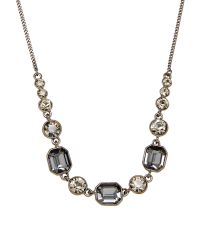Givenchy | Blue Hematite-Tone Statement Necklace | Lyst