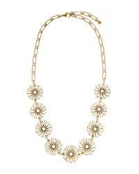 Lulu Frost - Metallic Daisy Long Necklace - Lyst
