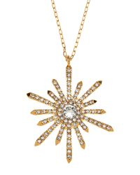 Vince Camuto | Metallic Gold-Tone Star Pendant Necklace | Lyst