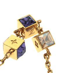 Louis Vuitton - Metallic Malletage Supple Bracelet - Lyst
