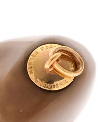 Hermès - Brown Necklace - Vintage - Lyst