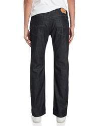 DIESEL - Blue Denim Waykee Jeans for Men - Lyst