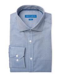 Vince Camuto - Blue Slim Fit Dress Shirt for Men - Lyst