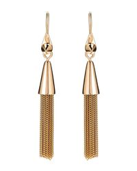 Eddie Borgo - Metallic Gold-tone Tassel Earrings - Lyst
