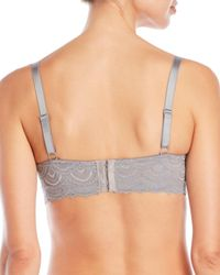 Rene Rofe - Gray 2-Pack Lace Bra - Lyst