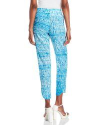 St. Roche - Blue Piper Tie-Dye Pants - Lyst