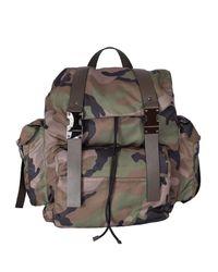 Valentino - Green Garavani Camouflage Backpack for Men - Lyst