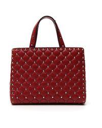 Valentino - Red Garavani Rockstud Tote Bag - Lyst