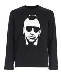 Neil Barrett - Black Taxi Driver Printed Sweater for Men - Lyst