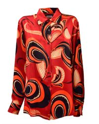 Dries Van Noten - Red Clavello Shirt - Lyst