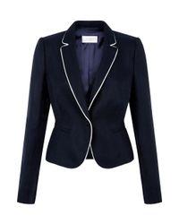 Hobbs | Blue Yvonna Jacket | Lyst