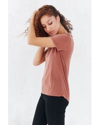 Truly Madly Deeply   Brown Marnie Tee   Lyst