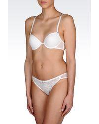 Emporio Armani - White Pants - Lyst