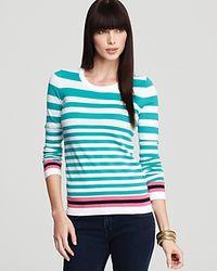 Lilly Pulitzer - Green Jessie Stripe Sweater - Lyst