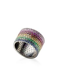 AS29 | Multicolor Lana Rainbow Pinky Ring | Lyst