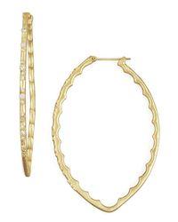 Armenta | Metallic Hoop Earrings | Lyst