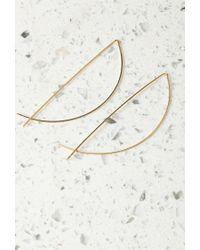 Forever 21 - Metallic By Boe Half Moon Threader Earrings - Lyst