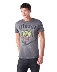 DIESEL - Gray T-sons for Men - Lyst