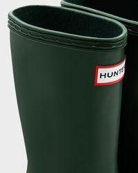 Hunter | Green Original Kids' First Classic Rain Boots | Lyst