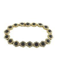 House of Harlow 1960 | Metallic Hexes Tennis Bracelet | Lyst