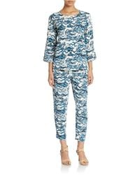 Essentiel Antwerp | Multicolor Relaxed Ankle Length Pants | Lyst
