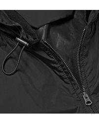 Acne Studios   Black Wilfred Hooded Shell Windbreaker for Men   Lyst